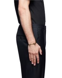 Eddie Borgo | Metallic Door Latch Cuff for Men | Lyst
