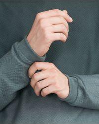 Zara   Green Structured Degradé Sweater for Men   Lyst