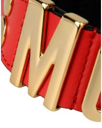 Moschino | Red Bracelet | Lyst
