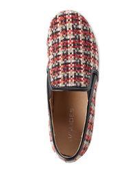 J/Slides - J/Slides Red & Black Sammi Slip-On Sneakers - Lyst