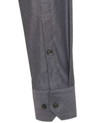 HUGO | Gray Slim-fit Shirt In Cotton: 'elisha' for Men | Lyst