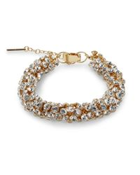 Saks Fifth Avenue | Orange Tubular Cluster Bracelet/crystal | Lyst