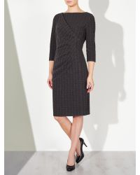 John Lewis Gray Alexie Textured Dress