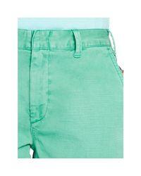 Polo Ralph Lauren   Green Cotton Chino Short   Lyst