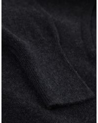 Jules B - Gray Cashmere V-neck Sweater for Men - Lyst