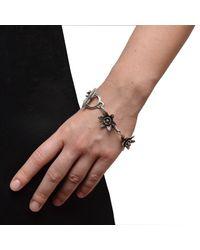 The Wildness Jewellery - Metallic Lotus Bracelet - Lyst