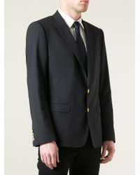 Dolce & Gabbana | Blue Two Button Blazer for Men | Lyst
