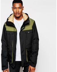 Clwr - Green Jacket With Colour Block for Men - Lyst