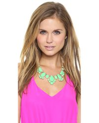 kate spade new york Green Day Tripper Necklace