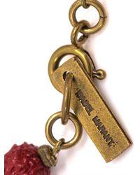 Isabel Marant | Textured Bead Tassel Bracelet | Lyst