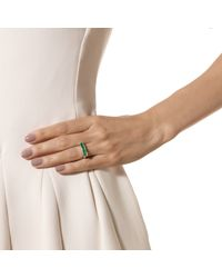Monica Vinader - Green Baja Ring - Lyst