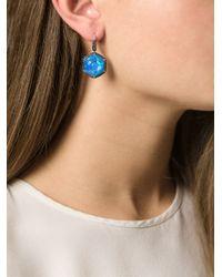 Stephen Webster | Blue Sapphire, Quartz And Diamond Earrings | Lyst