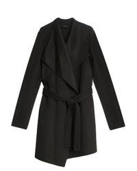 JOSEPH | Black Sheepskin Coat | Lyst
