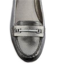 Bandolino | Gray Niverta Loafers | Lyst