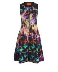 Clover Canyon - Purple Fire Fit Flare Dress - Lyst