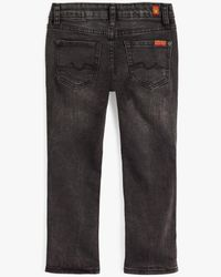 7 For All Mankind - Boy's 4-7 Slimmy In Black for Men - Lyst