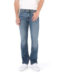 7 For All Mankind - Blue Slimmy New York Mid Used for Men - Lyst