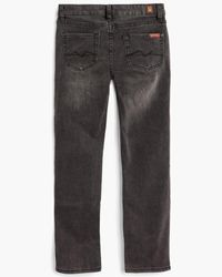 7 For All Mankind - Boy's 8-16 Slimmy In Black for Men - Lyst