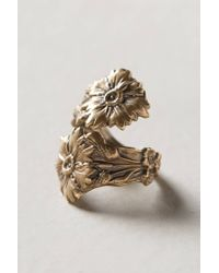 Alkemie | Metallic Winding Wildflower Ring | Lyst
