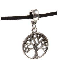 ASOS - Metallic Tree Of Life Choker Necklace - Lyst