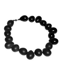 FLorian - Black Pebble Necklace - Lyst