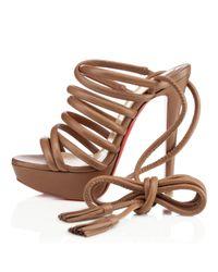Christian Louboutin - Natural Top Tina - Lyst