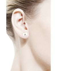 Ginette NY | Metallic Rectangle Earrings | Lyst