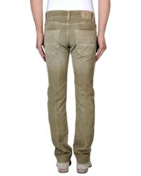 Care Label Green Casual Trouser for men
