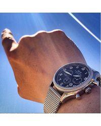 AVI-8 Metallic Supermarine Seafire Watch for men