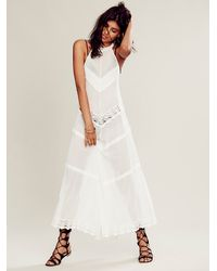 Intimately White Womens Between The Lines Maxi