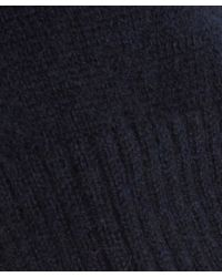 2nd Day Blue Navy Cashmere Knitted Zuky Jumper