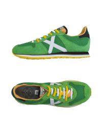 Munich - Green Low-tops & Trainers for Men - Lyst
