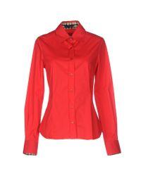 Daks Red Shirt