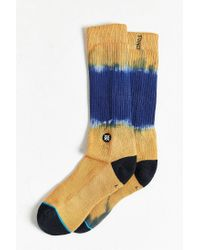 Stance - Orange Tucker Sock - Lyst