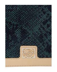 Biba Green Denise Frame Clutch Bag
