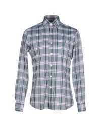 Stussy | Green Shirt for Men | Lyst