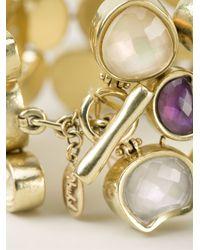 Vaubel - Metallic Stone Pebble Bracelet - Lyst