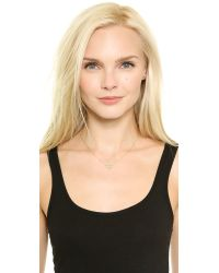 Jamie Wolf | Metallic Small 3 Leaf Necklace - Gold | Lyst