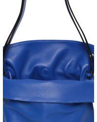 Loewe   Blue Small Flamenco Knot Nappa Leather Bag   Lyst
