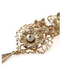 Isabel Marant | Metallic 'san Pedro Howlite' Earrings | Lyst