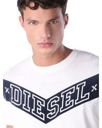 DIESEL   White T-joe-ag for Men   Lyst