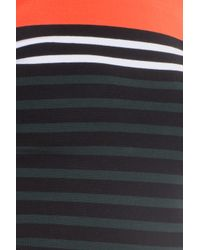 T By Alexander Wang Multicolor Striped Dress