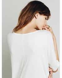 Free People | Natural We The Free Womens We The Free Sunset Fade Tee | Lyst
