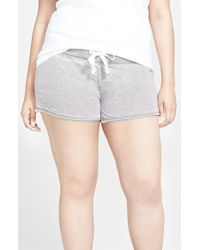 Honeydew Intimates | Gray Burnout French Terry Shorts | Lyst