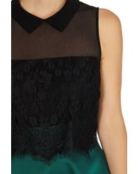 Coast Black Lisabet Lace Top