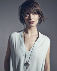 Jenny Bird | Metallic Bowie Pendant | Lyst