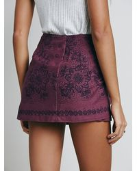 Free People - Purple Day Trip Mini - Lyst