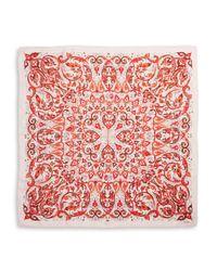Echo - Multicolor Silk Floral Paisley Scarf - Lyst