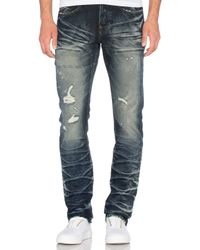 PRPS | Blue Shining Wall Faded Straightleg Jeans for Men | Lyst