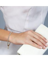 Astley Clarke - Gray Biography Hamsa In Safe Hands White Sapphire, Red Agate & Carnelian Silken Beaded Charm Bracelet - Lyst